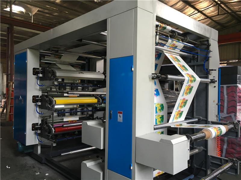 Four color Non woven bag Flexographic Printing Machine