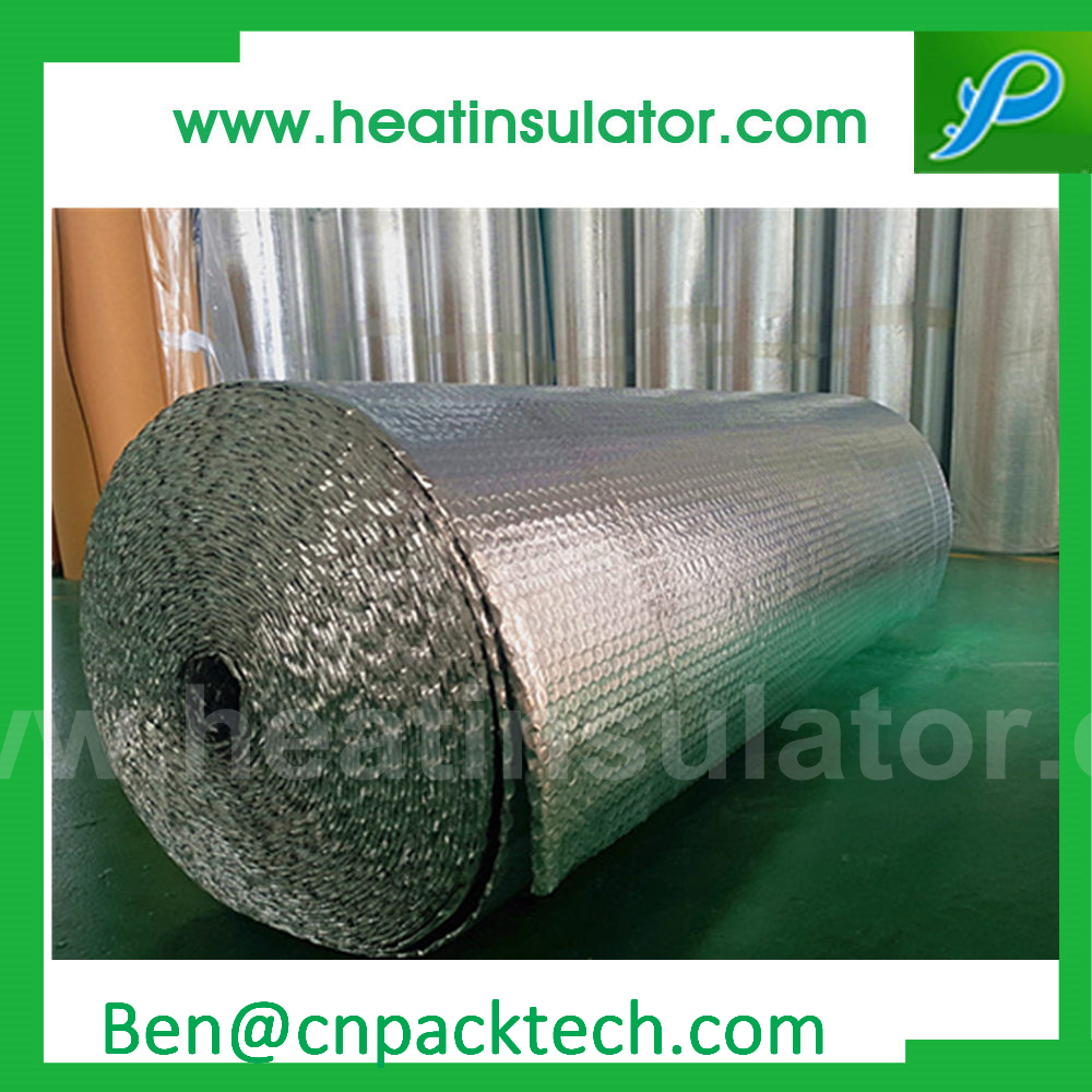 Radiant Barrier Foil Heat Insulation Bubble Foil Insulation With Pure Aluminum