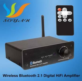 Hi-Fi Bluetooth amplifier