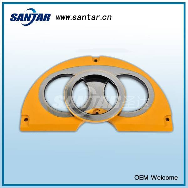 Concrete Pump Spectacle Wear Plate and Cutting Ring Suitable for Sermac