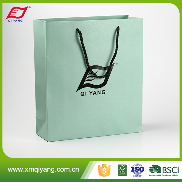 Oem wholesale custom logo printed red paper bag manufacturer