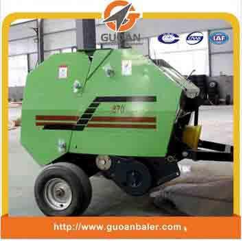 Tractor PTO driven wheat straw baler machine