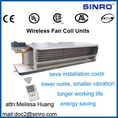 Wireless Fan Coil Units
