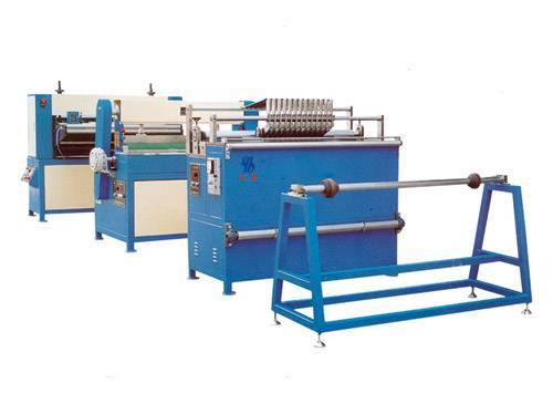 PP Filter Machine Slitting,Marking,Knife Pleating Line