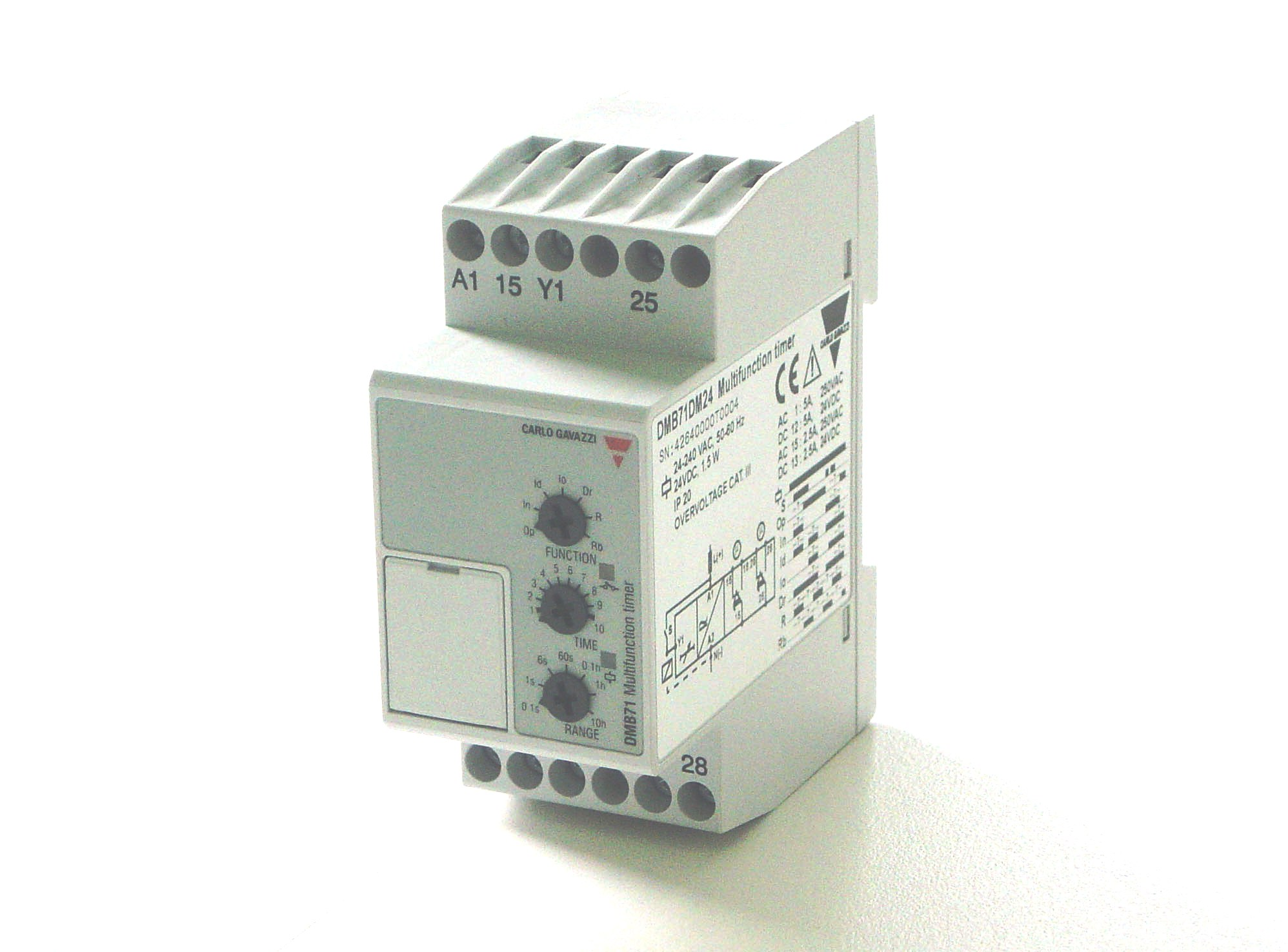 Multifunction Timer Relay DMB71DM24