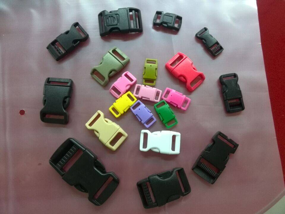 colorful plastic buckle