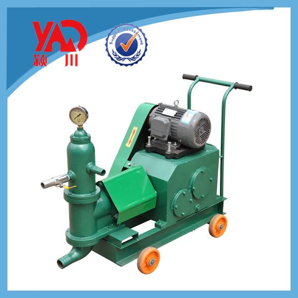 Cement grout injection pump for construction industry