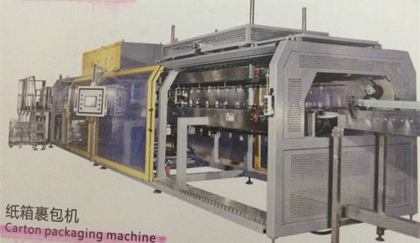 DBZ-CB15 CARTON PACKAGING MACHINE