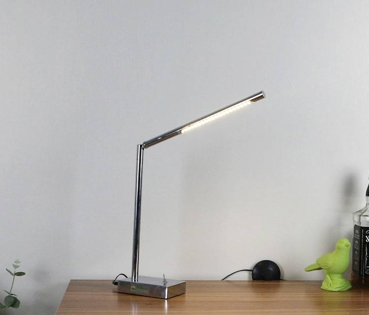 Reading table lamp with LED