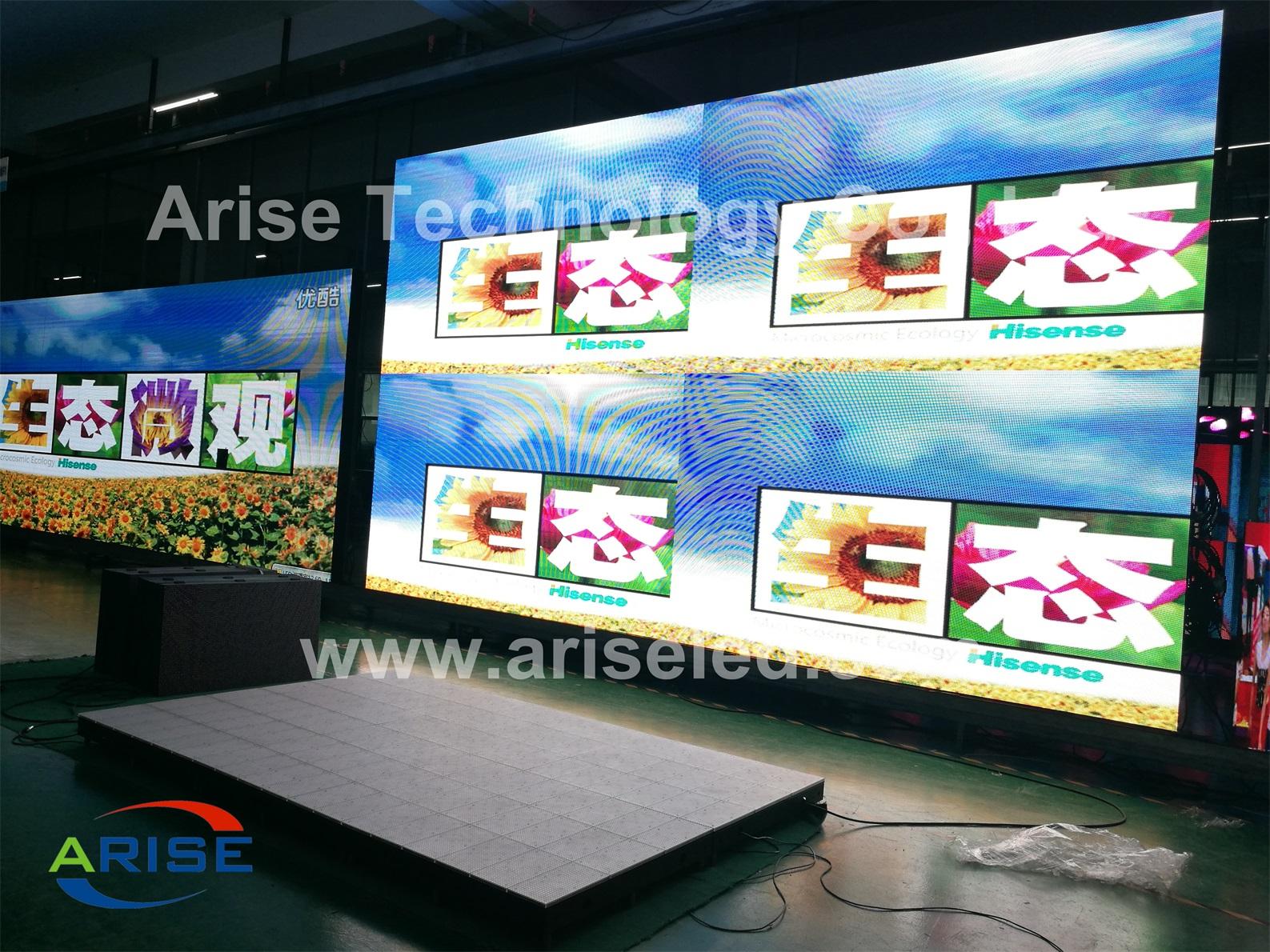 Outdoor P10.66 SMD High Brightness Advertising LED Display, Iron sheet metal, P10.66 LED Display, Di