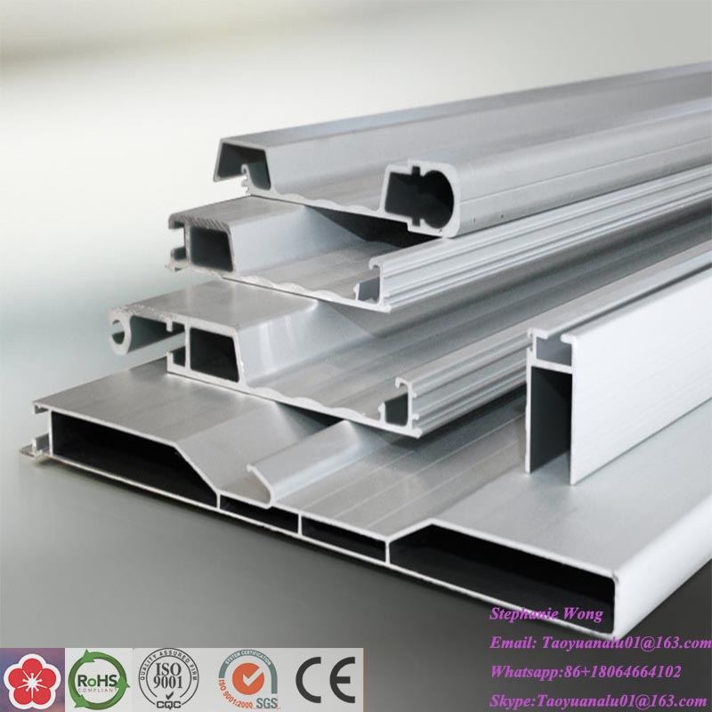 Aluminium Extrusion Profiles Loading Container
