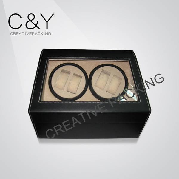 4+6 pu leather watch winder