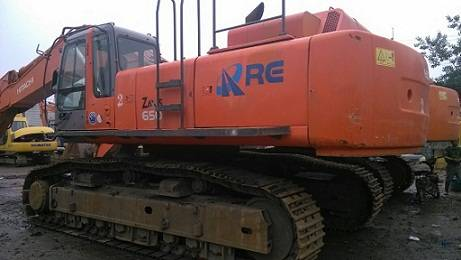 Used Hitachi ZAX 650 Excavator