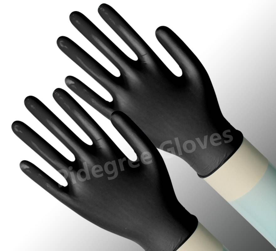 pvc dotted working gloves