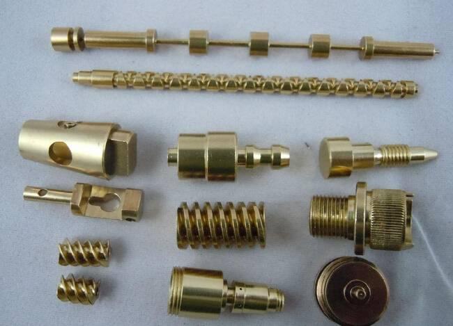 Costomized Portable electronics Brass parts galvanized zinc CNC high precise