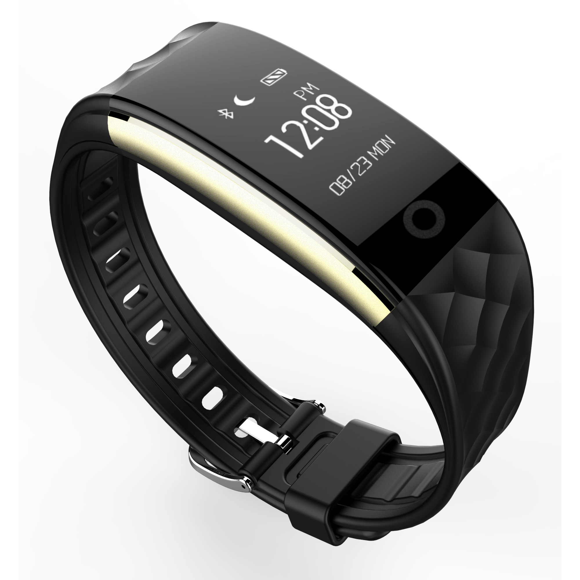 GIS sport waterproof smart bracelet with Pedometer Heart Rate Call Reminder Functions S2