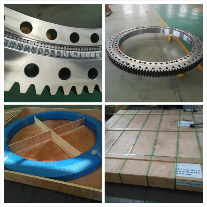 China Customized Ball and Roller Slewing Bearing with ISO 9001