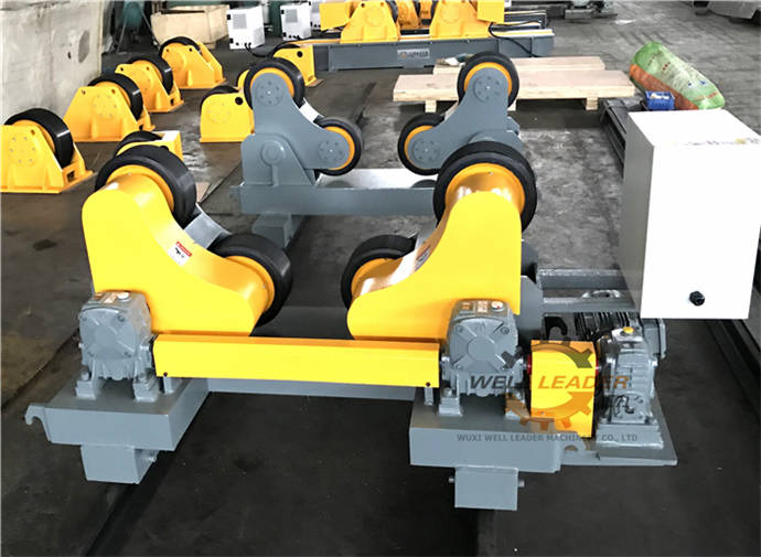 Vessel Welding Rotator Self Aligned Roller Bed Stand