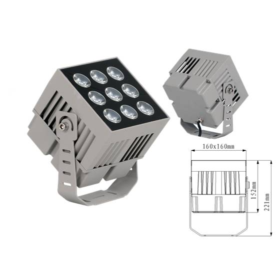 120W led floodlight led flood light wall washer IP65