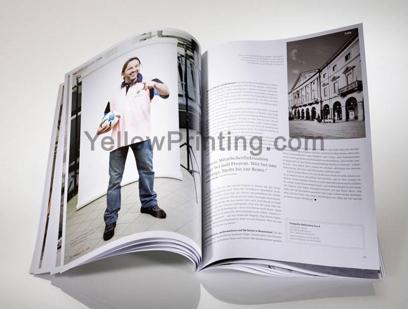 Catalogue printing with company logo