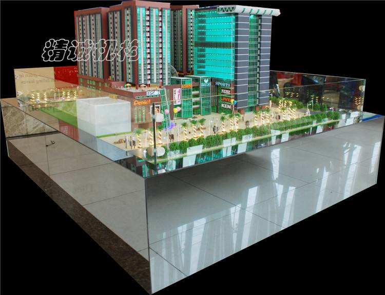 Office building model architectural model for factory or company to display