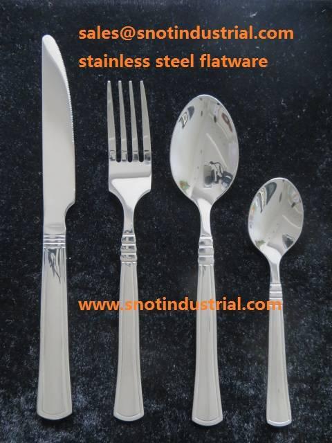 hot sale 24pcs stainless steel flatware