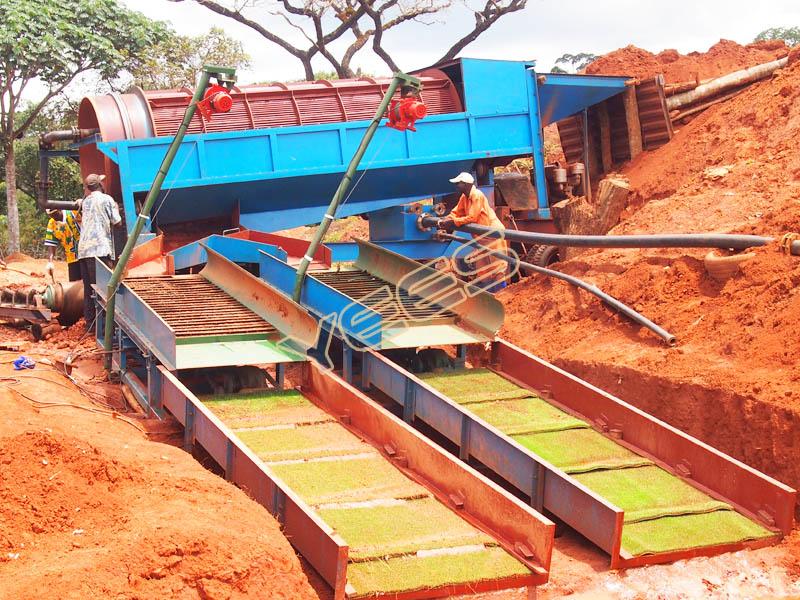 Trommel Screen Placer Gold Mining Equipment