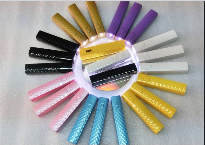 2000mAh New Mascara Power Bank with Torch (WY-PB74)