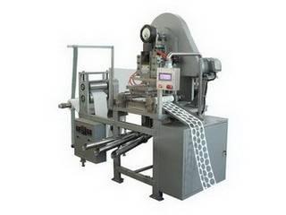 Cosmetic cotton pad machine