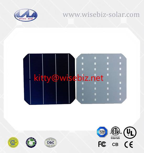 156mm Mono solar cells with 4bb for sale