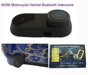 800M motorcycle intercom bluetooth helmet kits