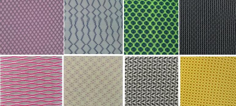 cotton mesh fabric, polyester, nylon, spandex fabric, shoe fabric