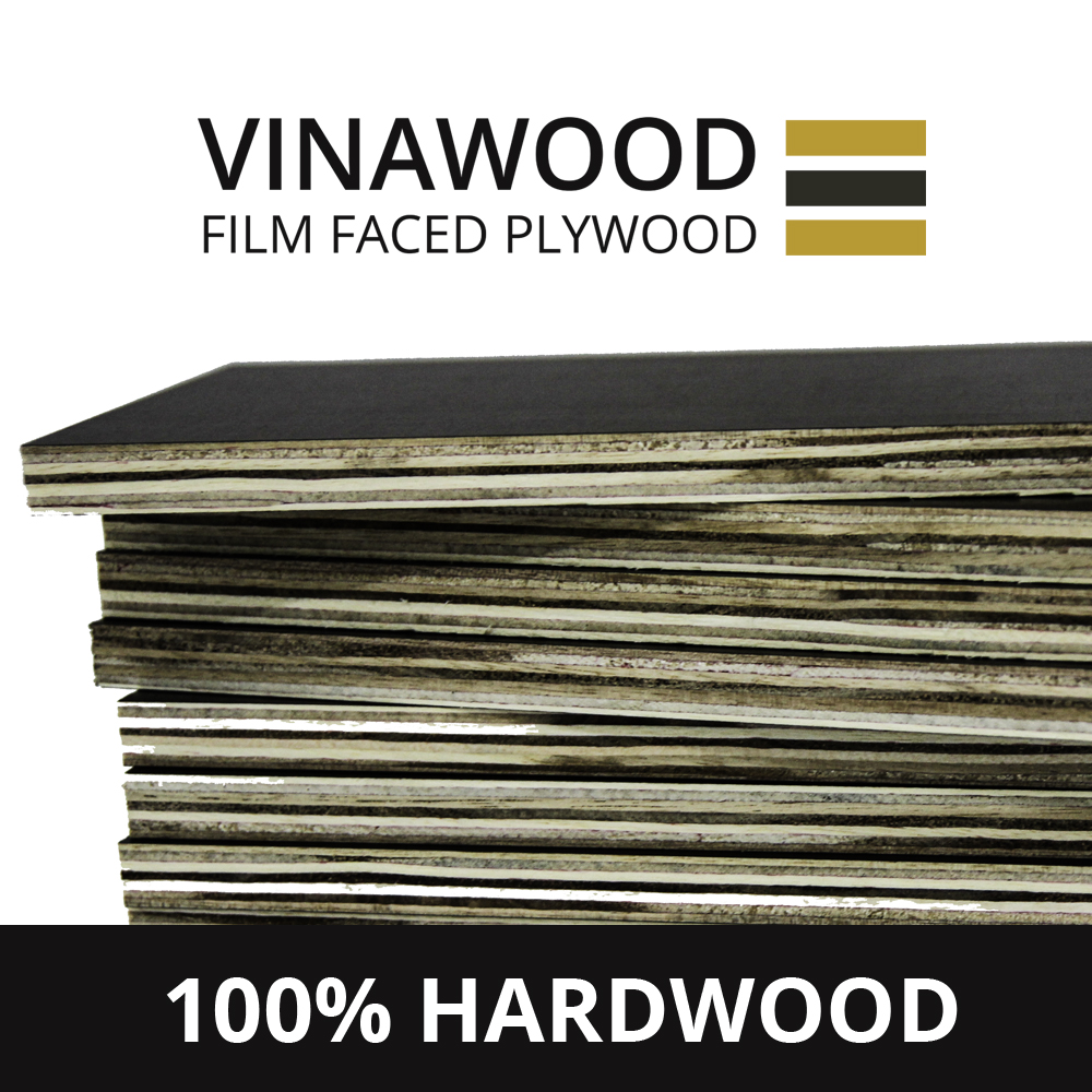 High Quality Brown Black Film Faced Plywood For Construction Formwork For Vietnam