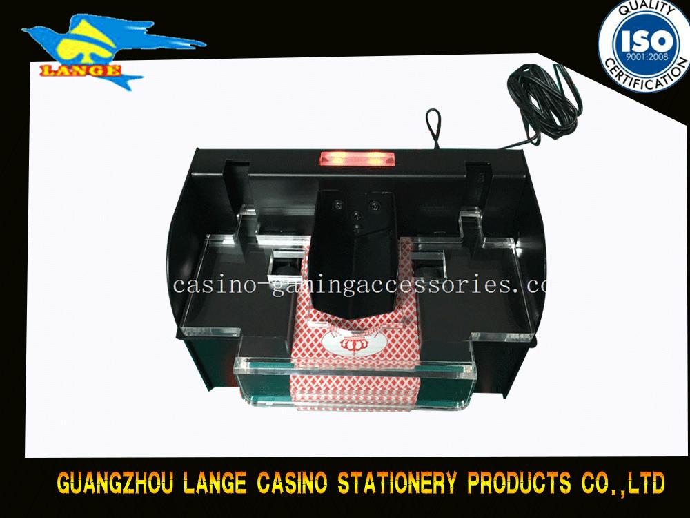 Metal Automatic 2 Deck Card Shuffler Machine For Blackjack