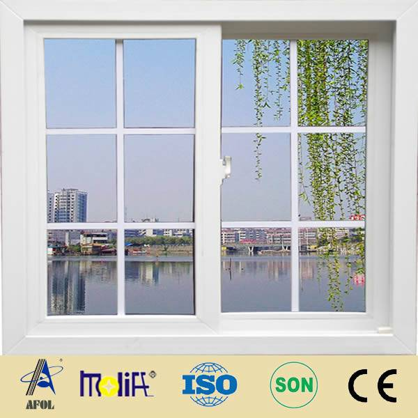 cheap price pvc/vinyl sliding window