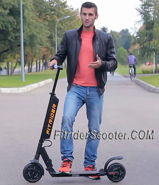 Fitrider Electric Scooter 350W motor 8 inch T1S Electric Mobility