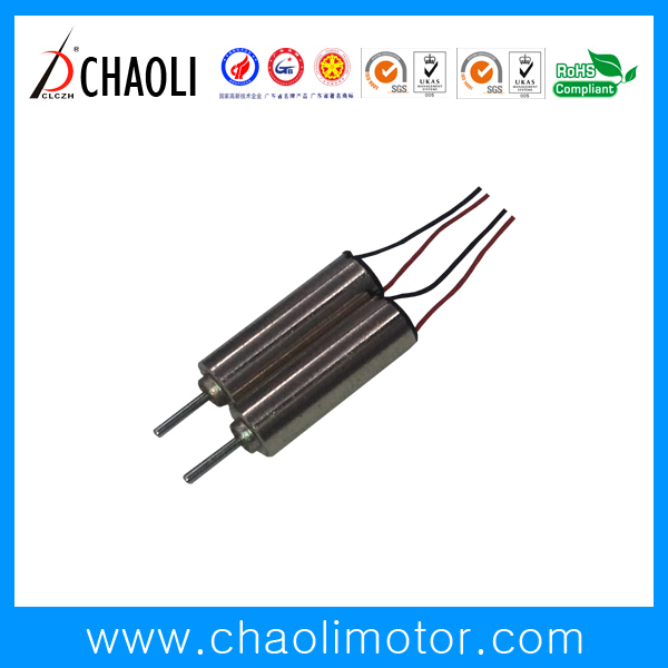 3V Miniature Coreless Motor CL-0412 For vibrator And Massager