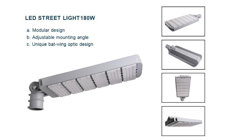 CE Rohs approved module led street light IP65