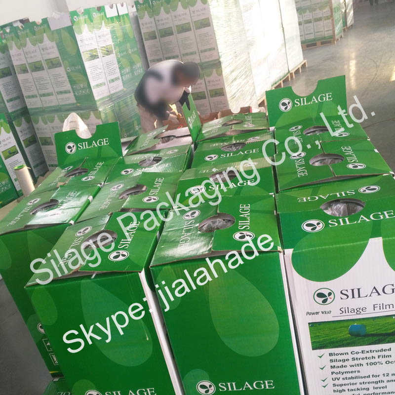 Professional Factory,EU Standard Silage Wrap Film,High Quality Plastic Film for Farm Wrapping