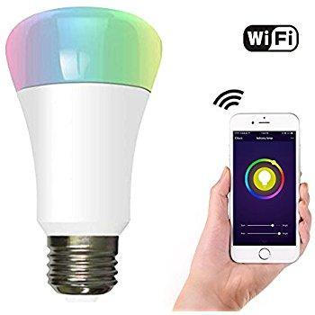 WiFi smart LED light bulbs