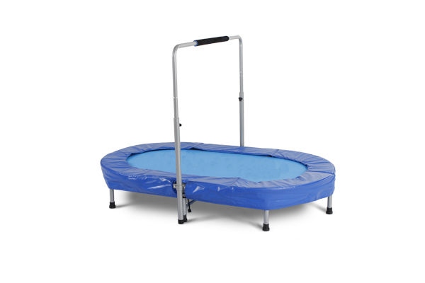 "36"" folding trampoline with handel for sale"