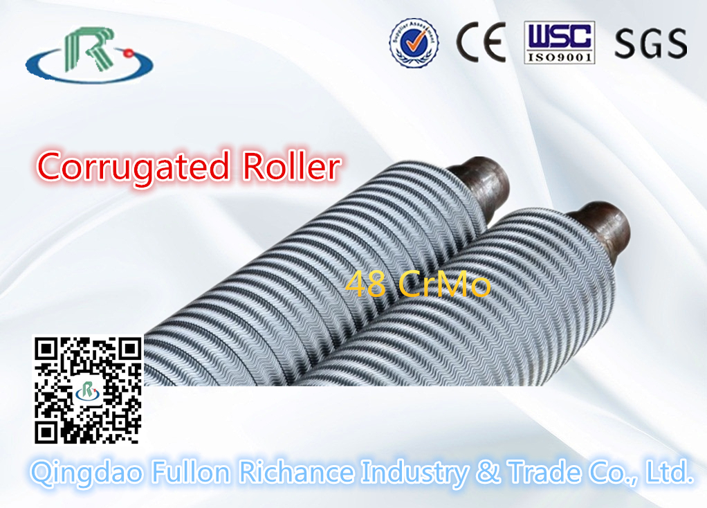 High Quality UV/ a~F Flute Corrugated Roller