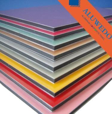 Aluwedo® fire-resistant B1 aluminum composite panels