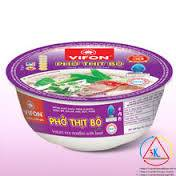 BOWL INSTANT RICE NOODLES WITH BEEF (120g)
