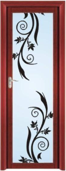 Factory Price Single Aluminium Wood Door Interior Door