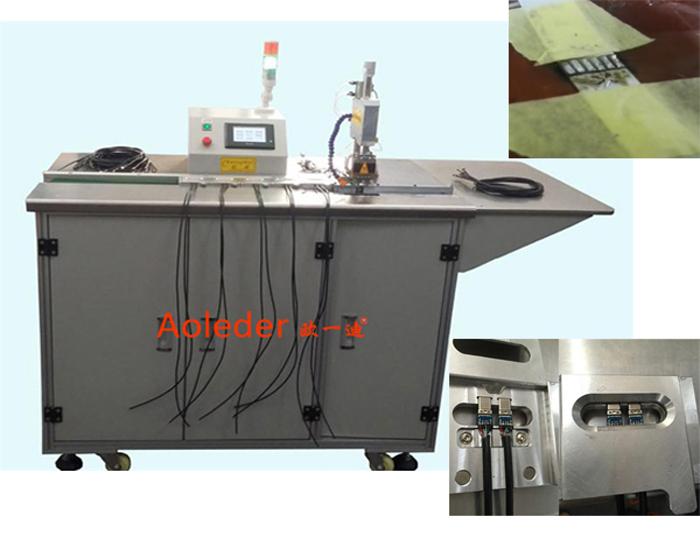 Wire soldering machine