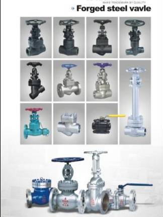 forged steel gate globe check ball valves