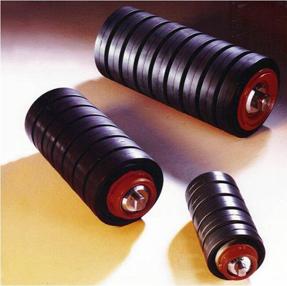 Dia.89mm Q235 Steel Tube Impact Roller buffering roller for Sale