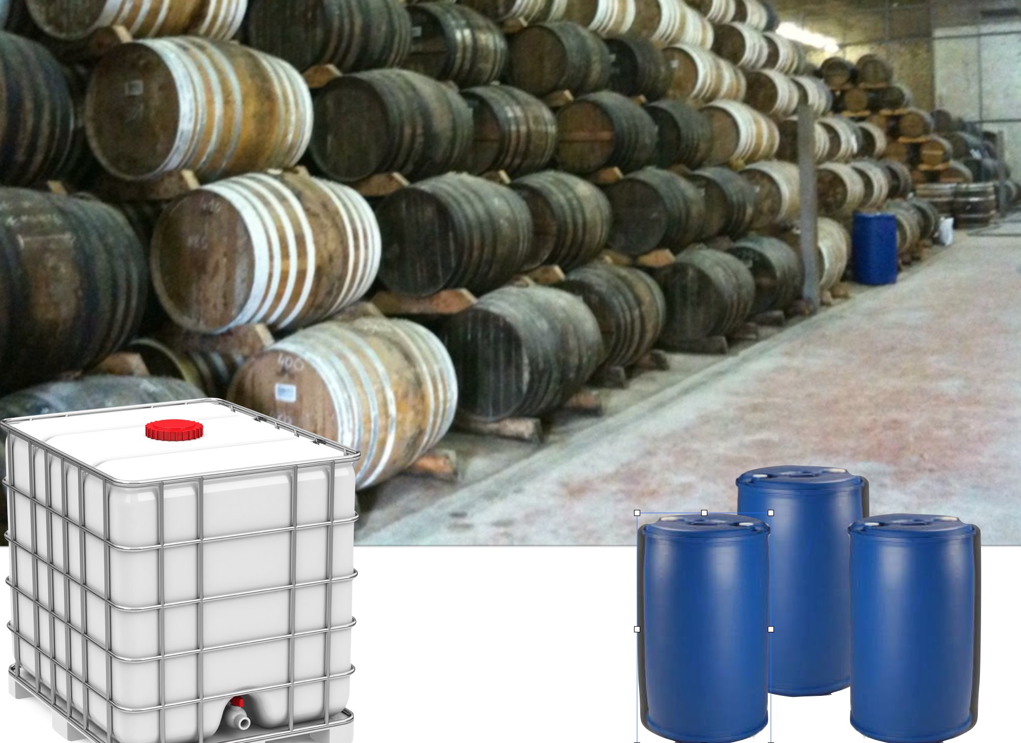 Neutral Alcohol 96 % wheat Bulk - 1000 L IBC