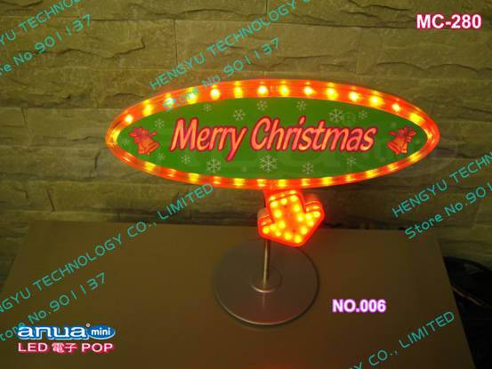 LED indoor advertisement sign board/ mini LED sign/ LED POP display MC-280 NO.006 power:6W